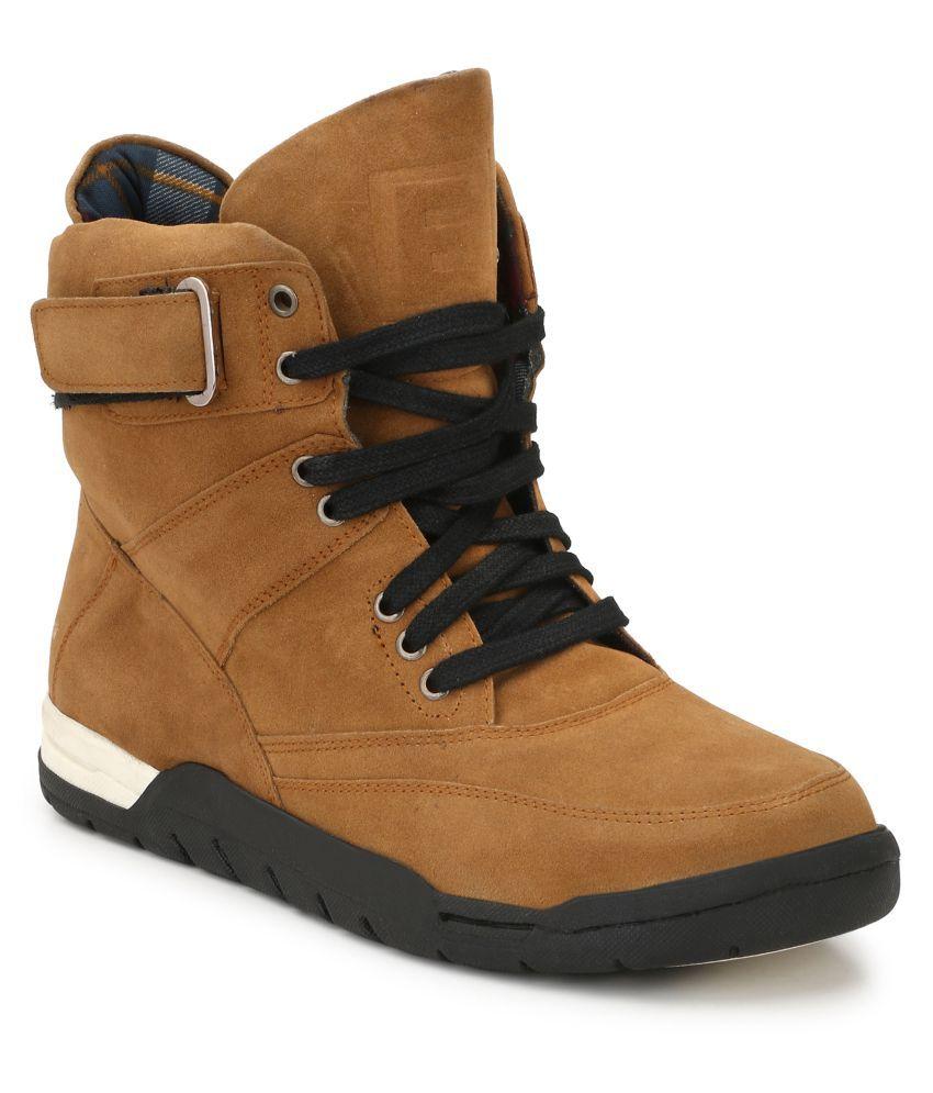 Eego Italy Camel Casual Boot