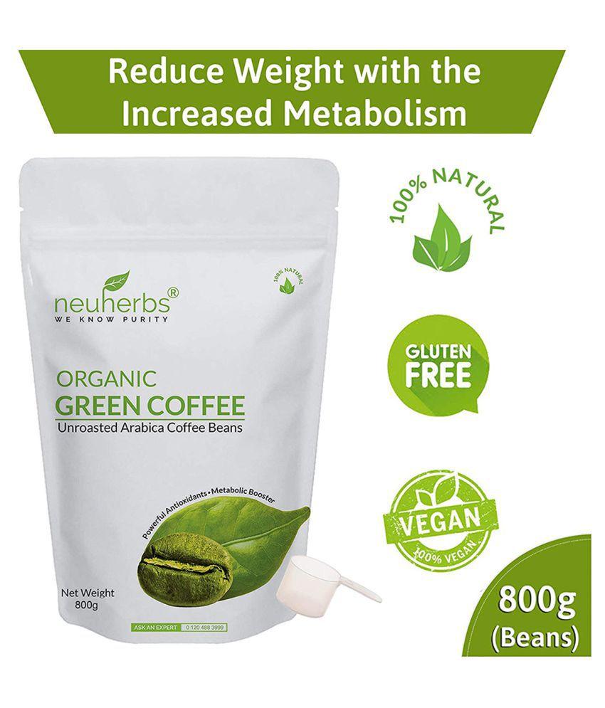 Neuherbs Green Coffee Beans For Weight Loss 800gm Buy Neuherbs