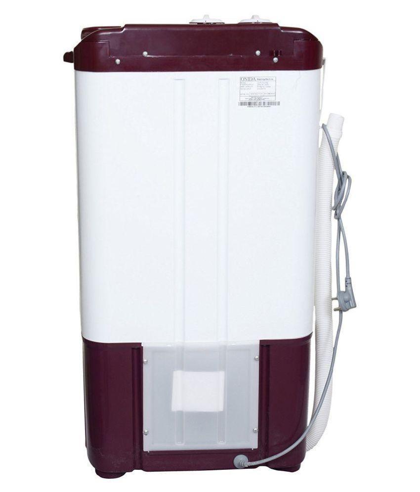 Onida 6.5 Kg WS65WLPT1LR Semi Automatic Washer Washing ...