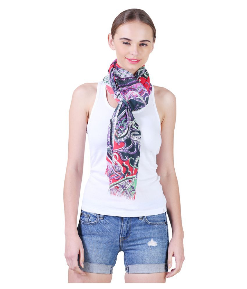 vedish Multi Printed Rayon Stoles