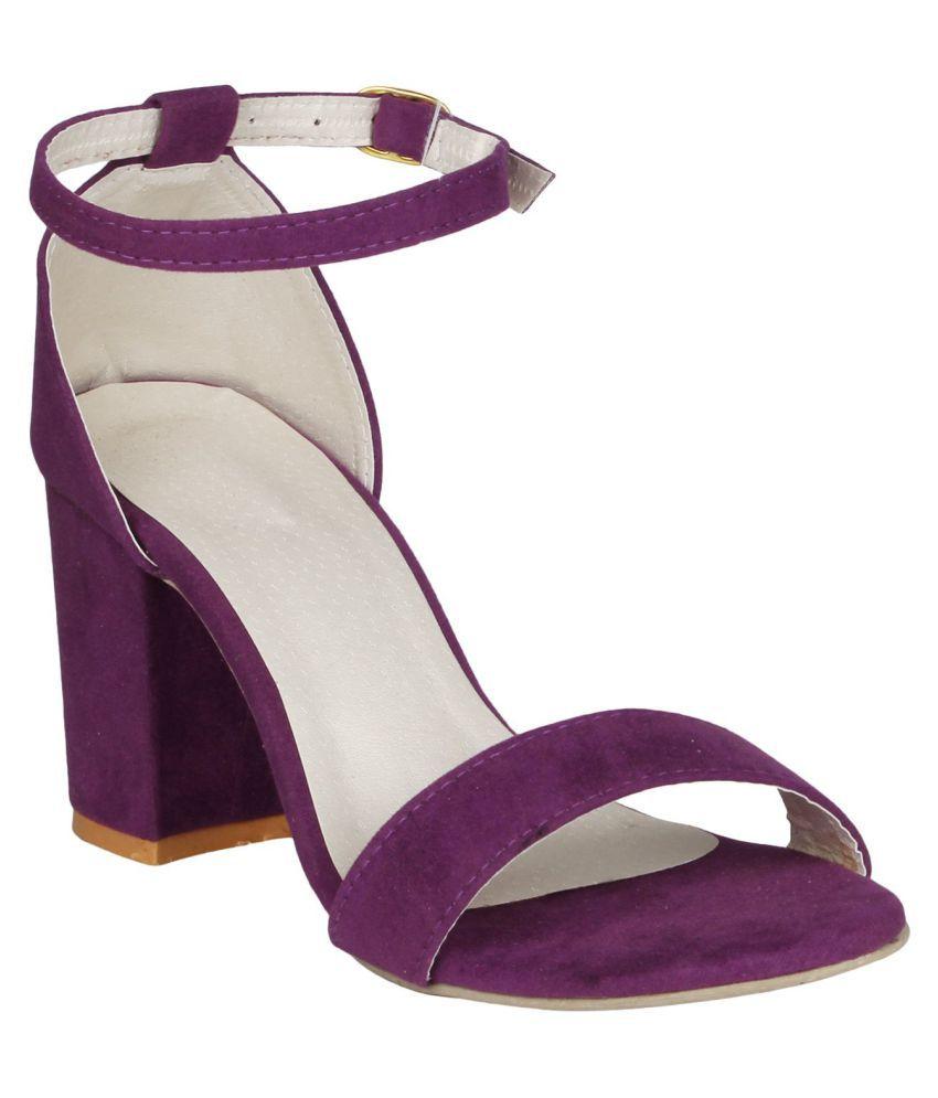 e54a9be6b09a Shofiee purple block heels price in india buy shofiee purple block jpg  850x995 Lilac block heels