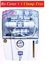 DEAL AQUAGRAND AUDI RO+UF+UV+MINERAL+TDS CONTROLLER 12 Ltr ROUVUF Water Purifier- ALL FEATURES_ RO COVER & 1 CLAMP FREE