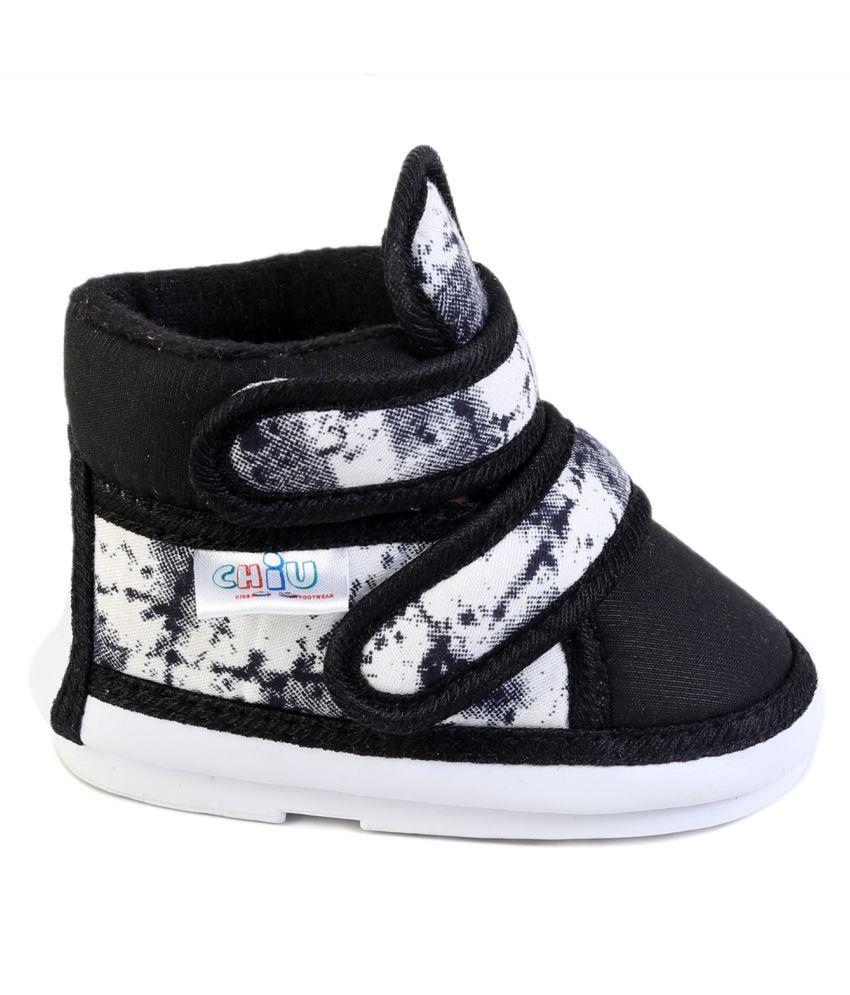 CHIU Chu-Chu Multi & Black Shoes With velcro For24-28 ...