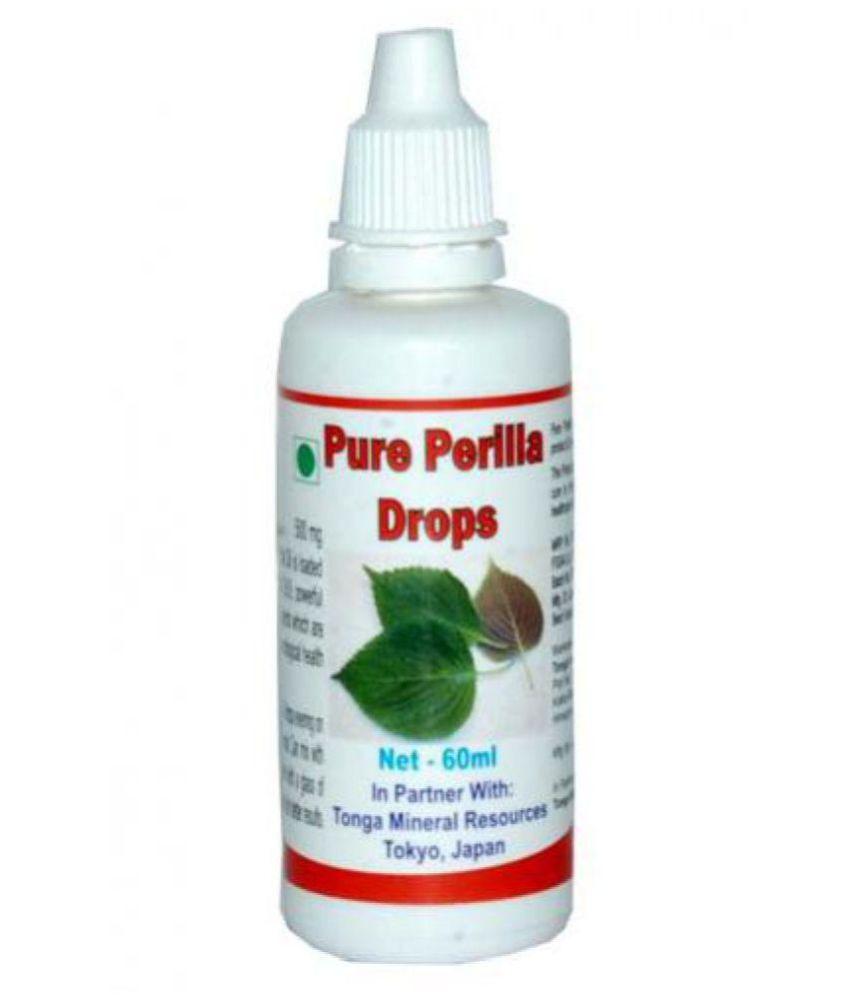 Tonga Herbs Pure Perilla Drops 60 ml Minerals Syrup