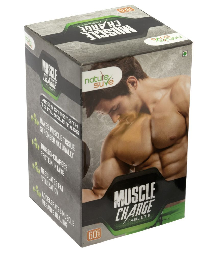 Nature Sure Muscle Charge Tablets 60 no.s