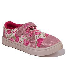 1669f923fc5 Quick View. Khadim s Pro Girls Pink Casual Dress Sneakers