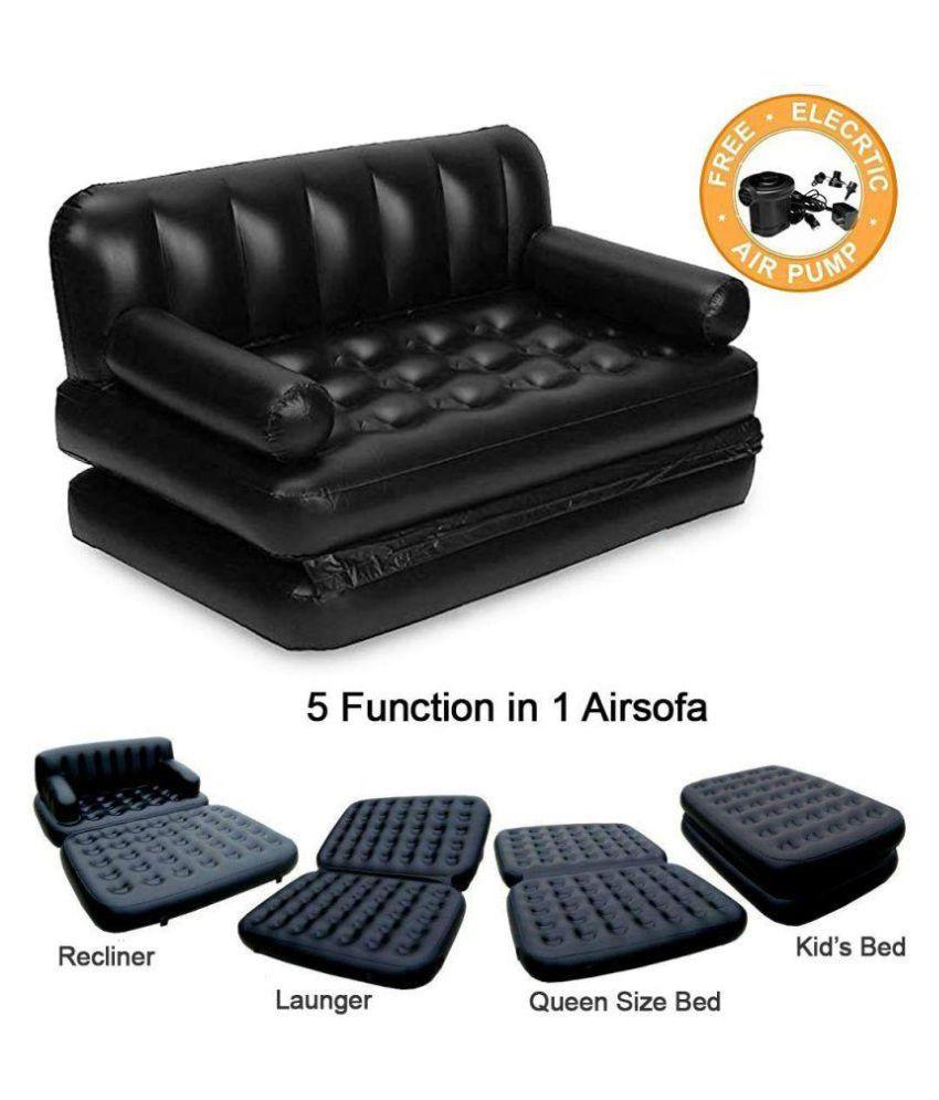 Dream India Air Sofa Cum Bed 5 In 1 Inflatable Three