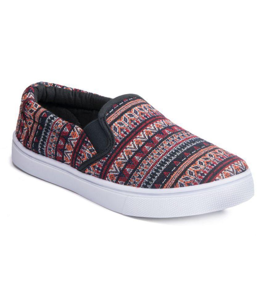 Khadim's Maroon Casual Shoes