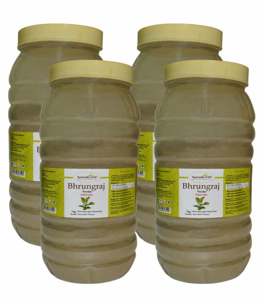 Ayurvedic Life Bhringraj Powder 1000 gm Pack of 4
