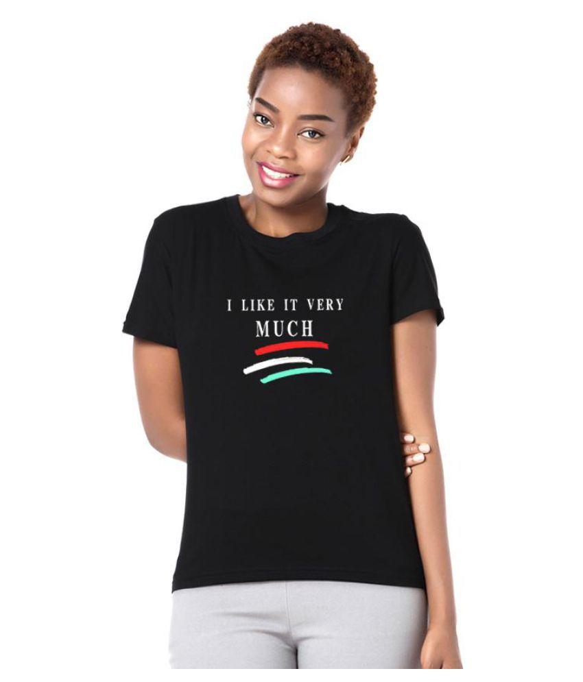 I Like It Very Much Stripe Summer T-Shirt Unisex Round Neck Short Sleeve Top Tee