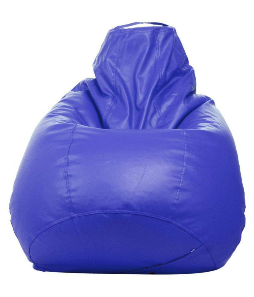 Bean Bag Cover Without Bean XXL Blue  Without Bean