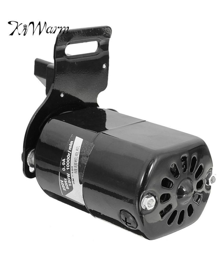220V 180W 5000RPM Home Sewing Machine Black Motor With Foot Control-Pedal 0.9A