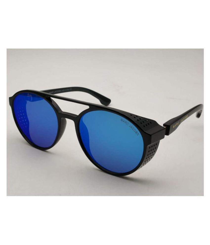 Jacob Jacob Blue Blue Marc Round Sunglasses97373 Marc SMzVpqUG