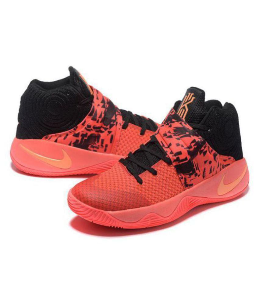 new arrival f7ee8 91841 Nike Kyrie 2 Red Basketball Shoes - Buy Nike Kyrie 2 Red Basketball Shoes  Online at Best Prices in India on Snapdeal