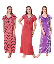 Cotton Big Clearance Sale Woman Nightdress Ropa, Calzado Y Complementos Ropa De Mujer