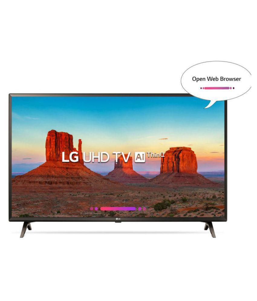 LG 43UK6360PTE 108 cm   43   Ultra HD  4K  LED Television
