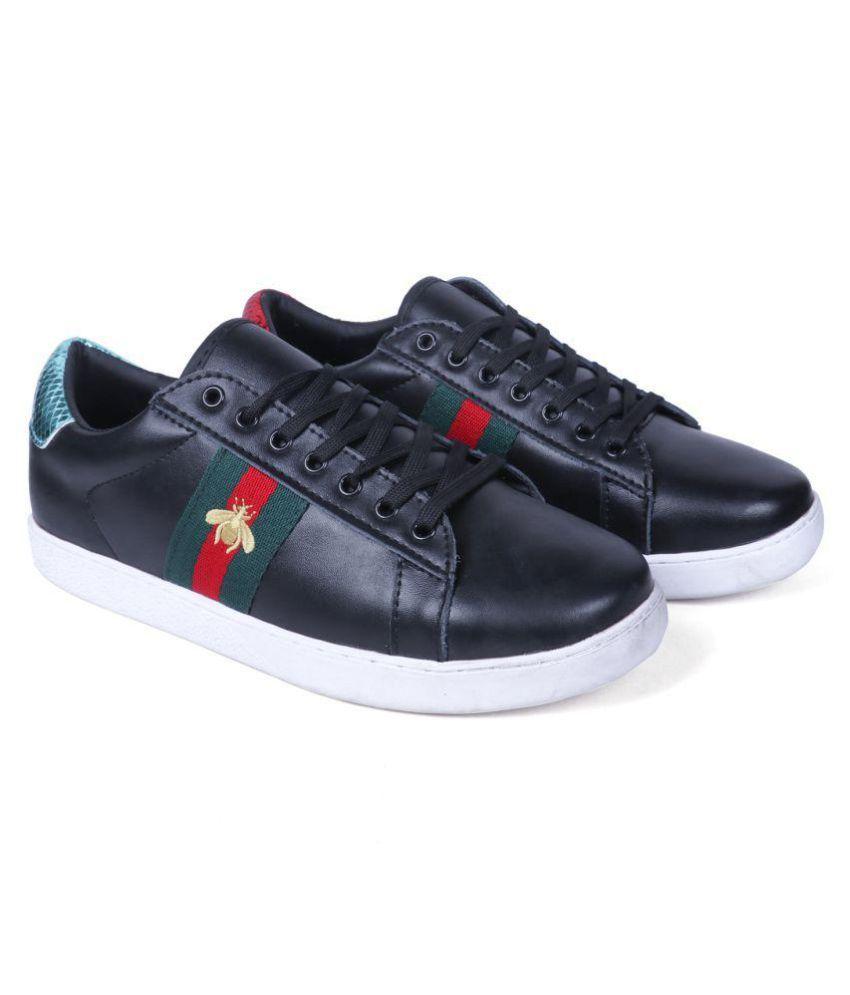 6f4f9dc286f Gucci Black Casual Shoes Price in India- Buy Gucci Black Casual ...