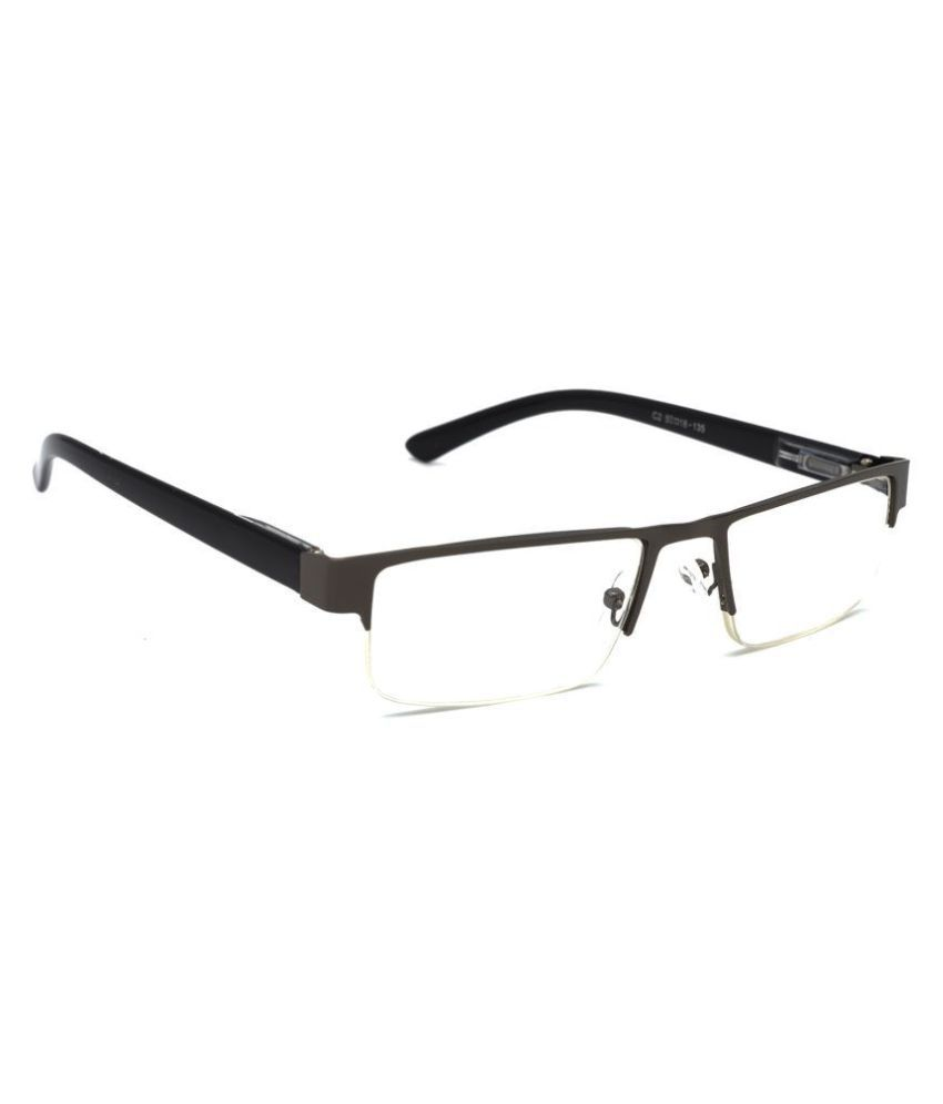 Hrinkar Rectangle Half Rim Reading Glasses