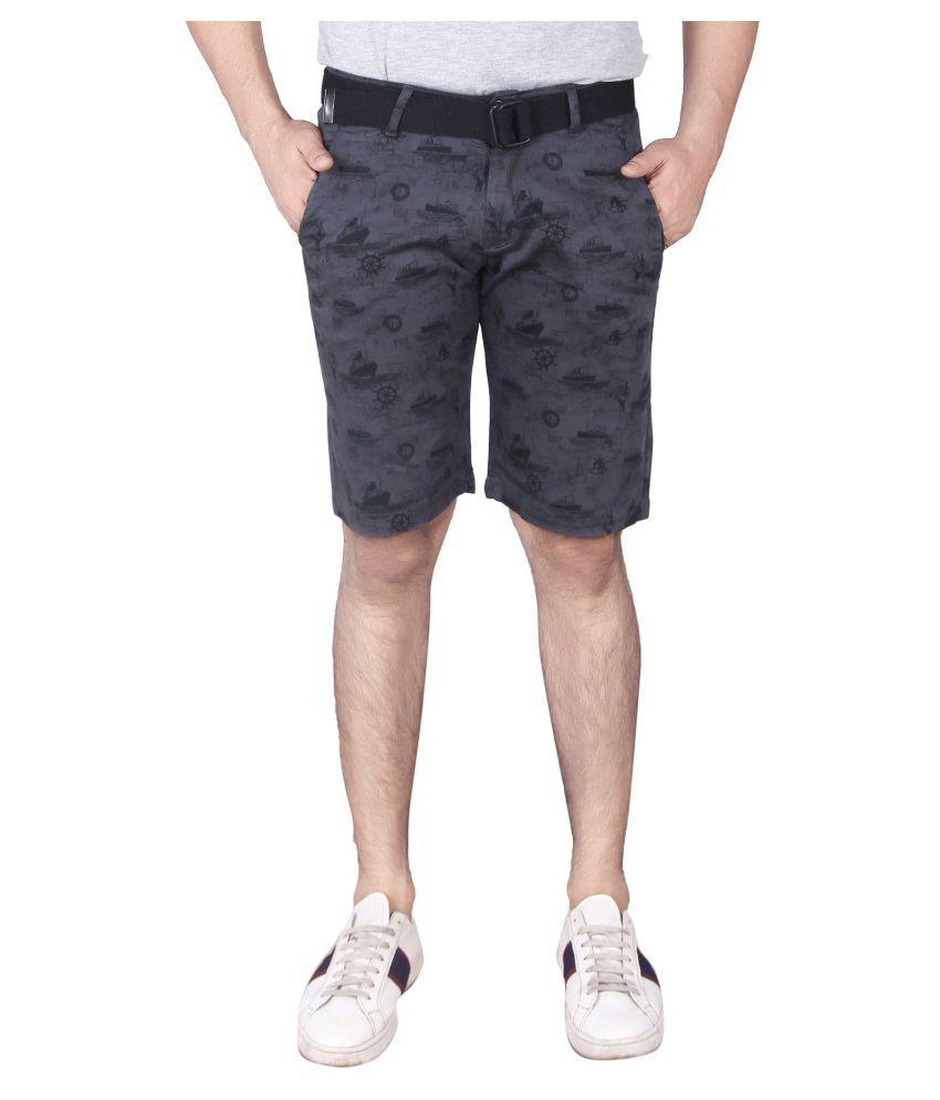 SHOWMAN Grey Shorts Single