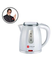 Cello Quick Boil 600 A 1 Liters 1200 Watts Stainless Steel Electric Kettle