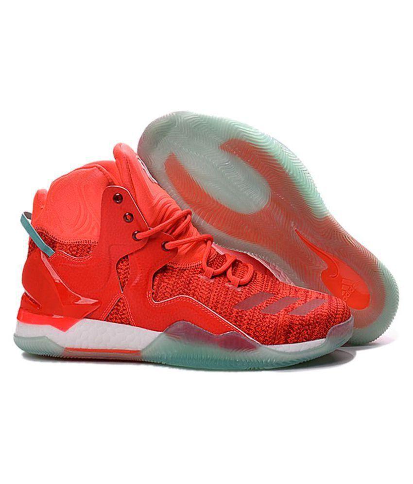 69a0554253 Adidas D ROSE 7 PRIMEKNIT Pink Basketball Shoes