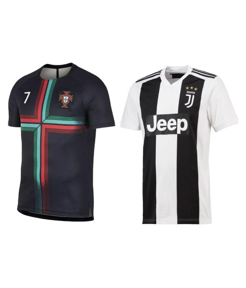 Uniq Products Multi Polyester Jersey Pack of 2