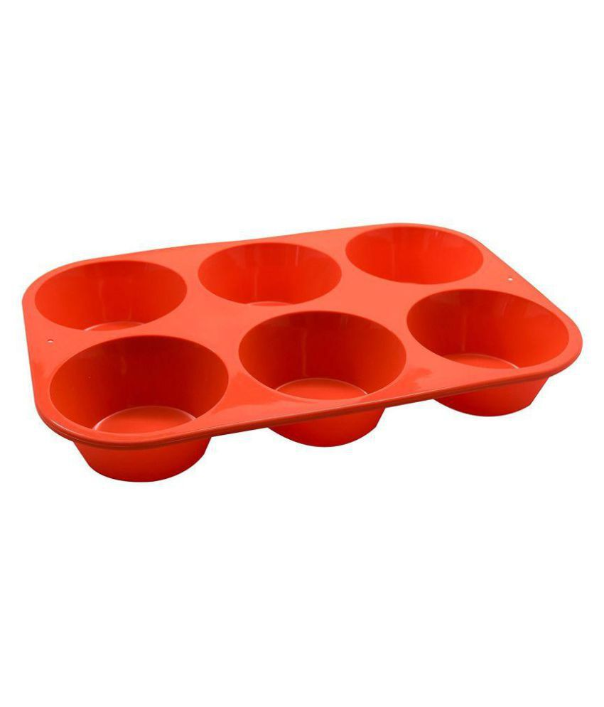 Inditradition Silicone Muffin Moulds 6