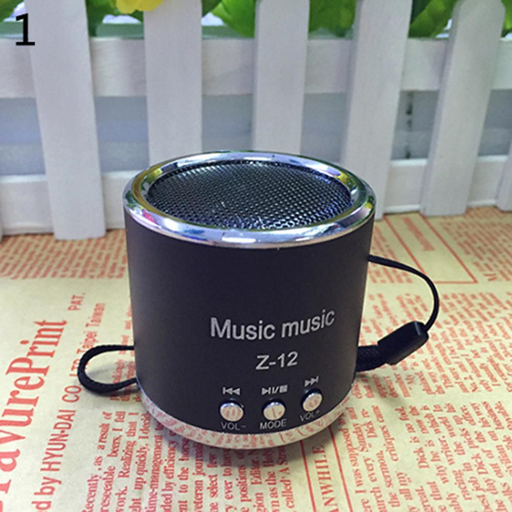 Portable Wireless Mini USB Music Speaker FM Radio Micro SD TF Card MP3 Player