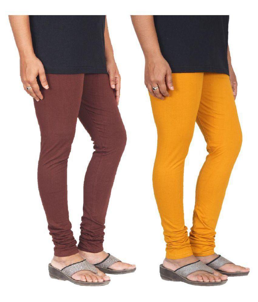 Skandas Trendz Cotton Pack of 2 Leggings
