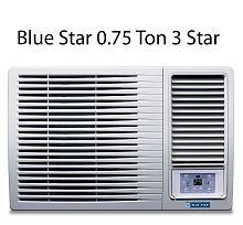 Blue Star 0.75 Ton 3 Star 3WAE081YDF Window Air Conditioner White(2018 BEE Rating) Free Standard Installation