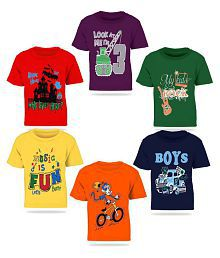25a9be32 T-Shirts for Boys: Buy Boy's T-Shirts, Tees Online at Best Prices in ...