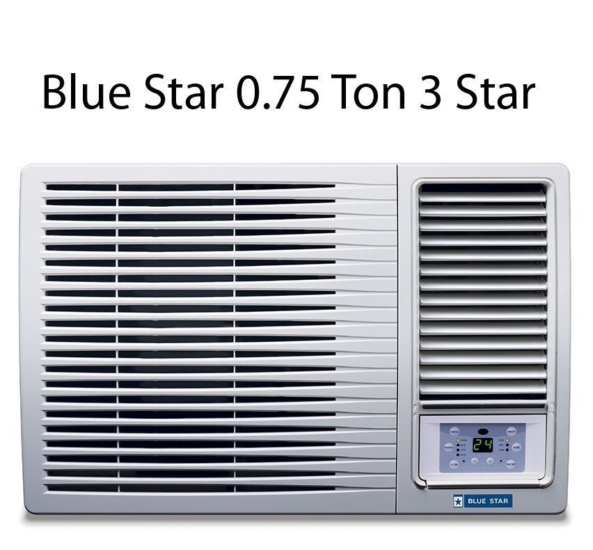 Blue Star 0.75 Ton 3 Star 3WAE081YDF Window Air Conditioner White