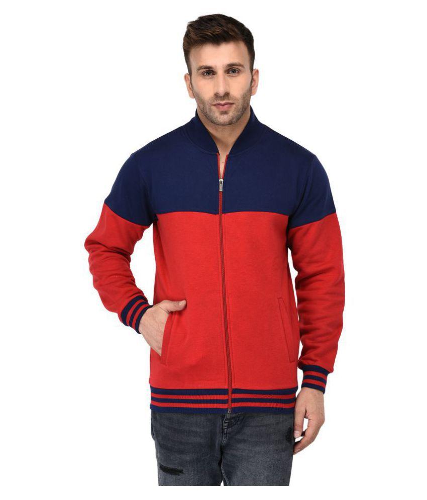 Vivid Bharti Multi V Neck Sweatshirt