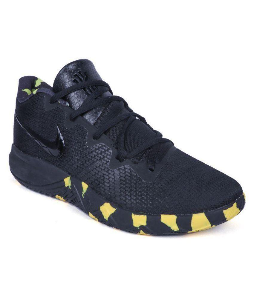 info for 08b42 929da Nike Kyrie 4 Flytrap Black Basketball Shoes