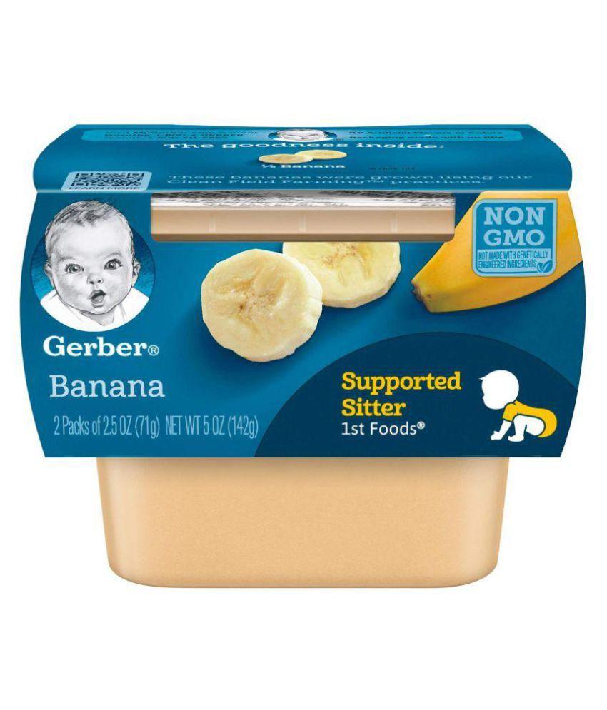 Gerber Bananas Snack Foods for 6 Months + ( 282 gm )