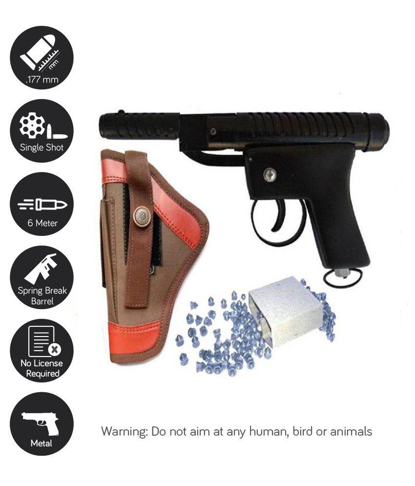 Dynamic Mart Cobra Air Gun with free Cover & 100 Pellets