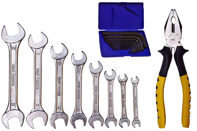 Visko 808 Home Tool Kit (18 Pieces)