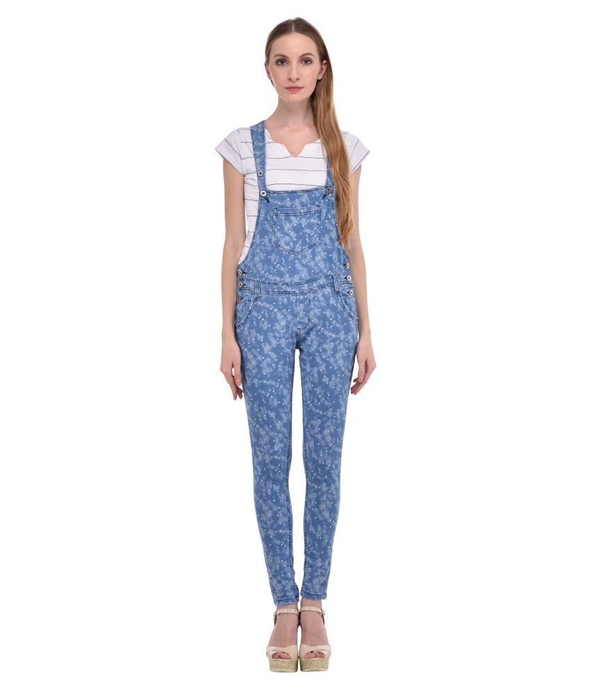 Ritu Designs Blue Denim Jumpsuit