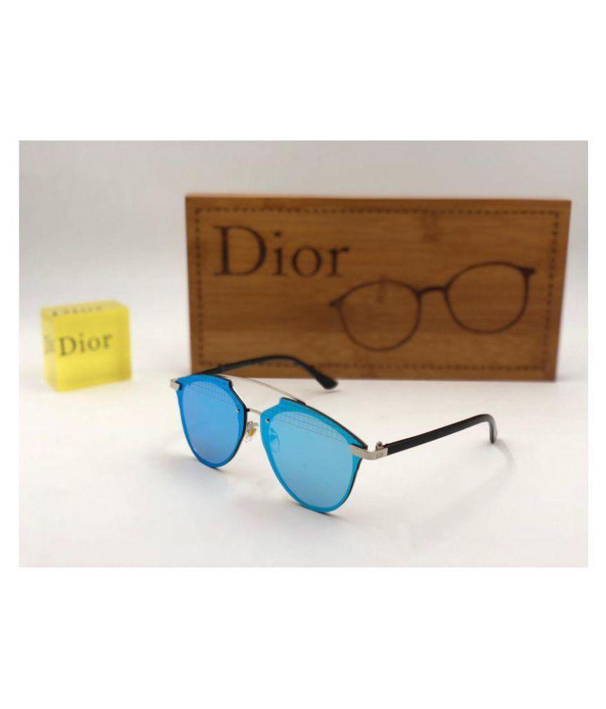 cb34fb08ffc ... DIOR SUNGLASS Ocean Blue Aviator Sunglasses D 765 Buy DIOR