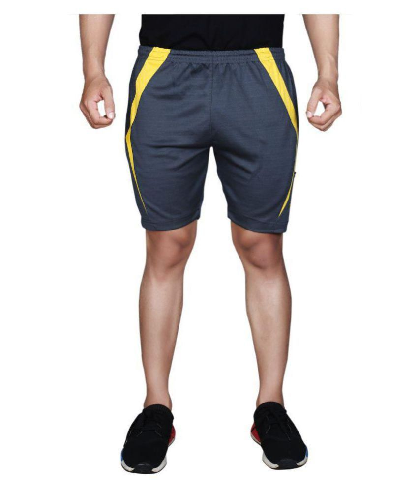 F09 Yellow Shorts