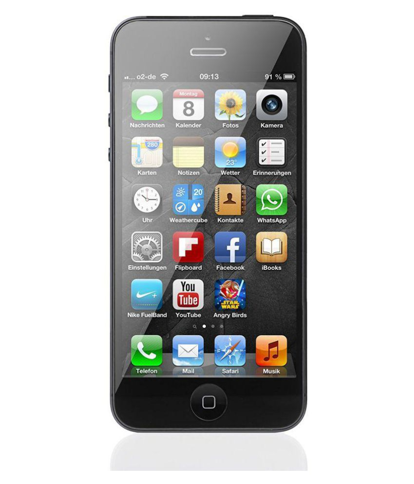 apple iphone Black iphone 5 16GB