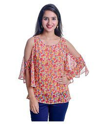 dd0ab1367f280 Georgette Tops for Women  Buy Georgette Tops for Women Online at Low ...