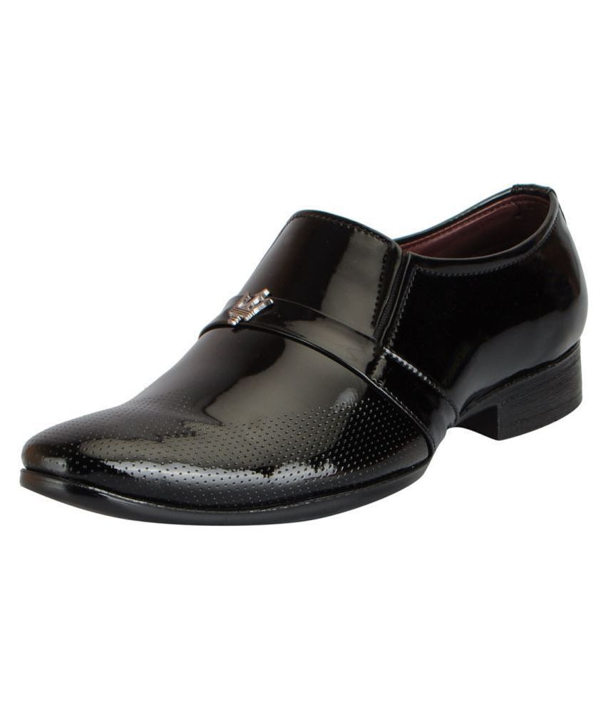 Fausto Slip On Non-Leather White Formal Shoes