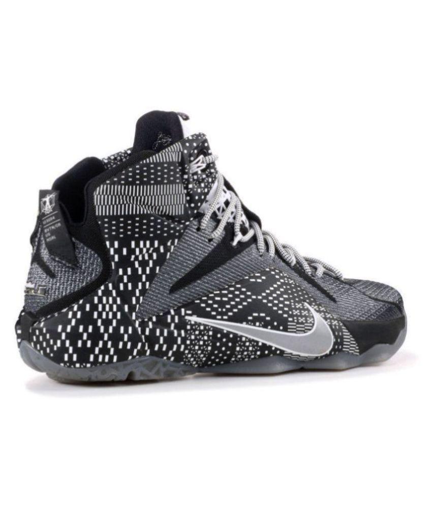 Nike Lebron 12 BHM Black Basketball Shoes - Buy Nike Lebron 12 BHM ... bb62a185e