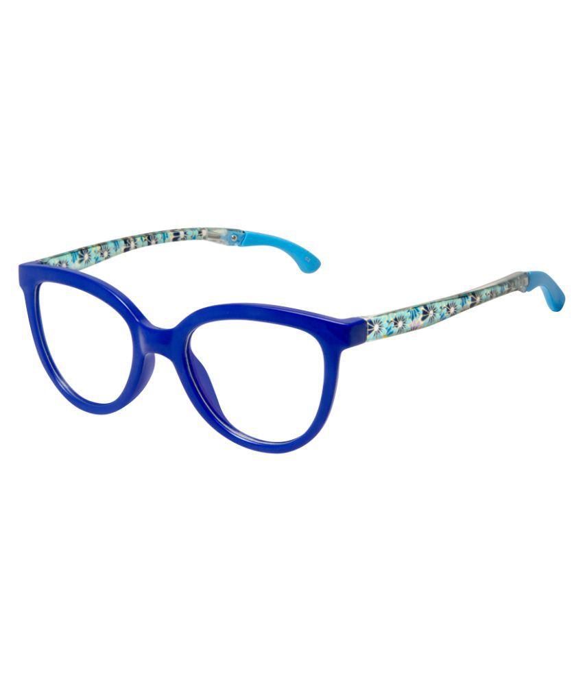 Cardon Blue Cateye Full Rim Kids EyeFrame