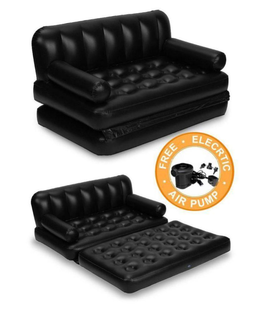 5 In 1 Adjustable Inflatable Air Bed Cum Sofa Sofa Set