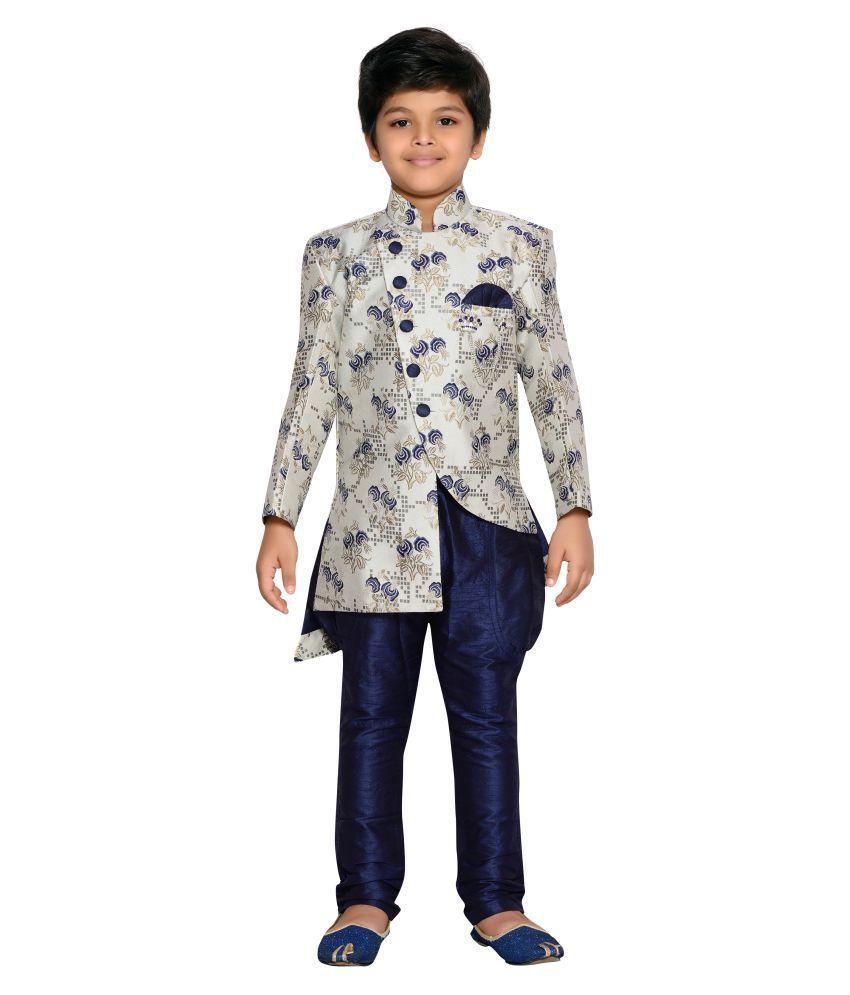 AJ Dezines Kids Festive and Party Wear Sherwani Set for Baby Boys