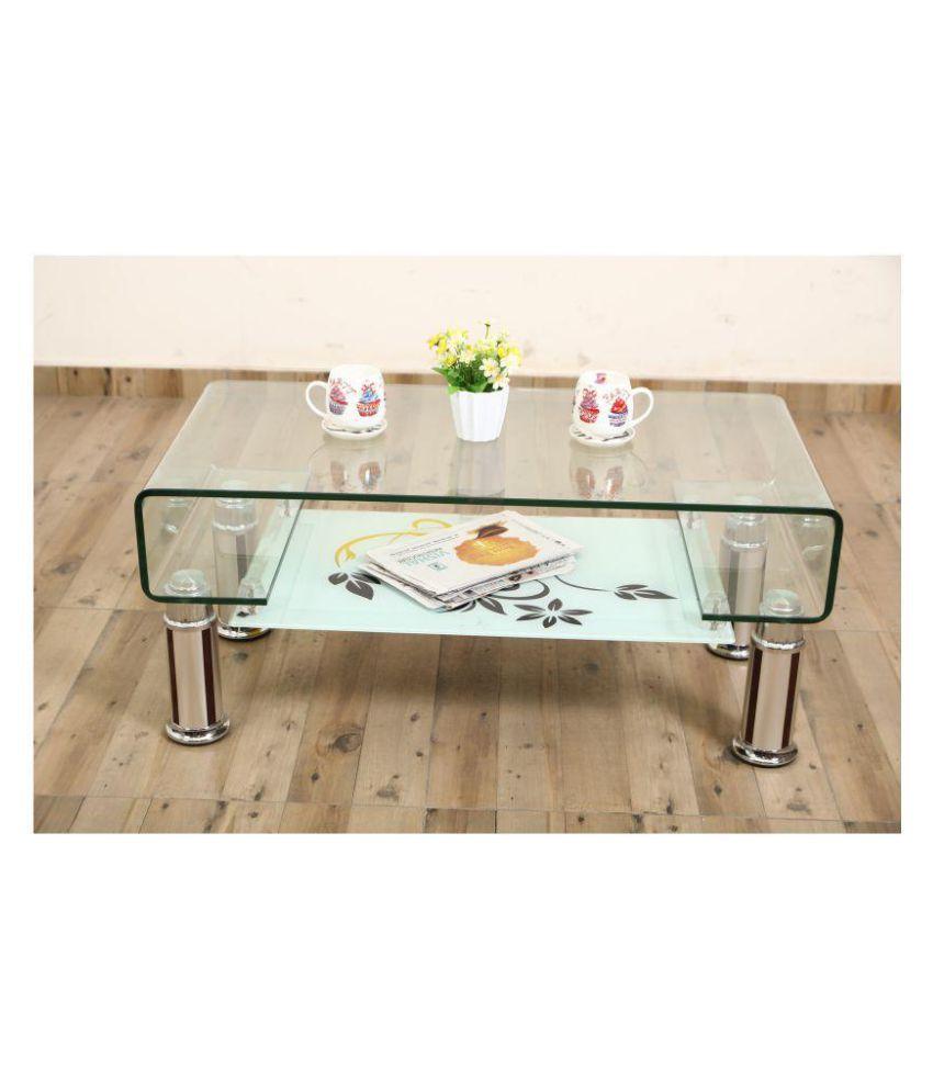 eros glass centre coffee tea table rh snapdeal com
