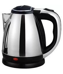 Mezire ® Portable Warmer Heater 1.8 Liters 1500 Watts Stainless Steel Electric Kettle
