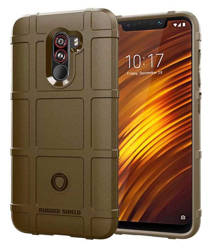 huge discount 29522 a75ac Xiaomi Redmi Poco F1 Shock Proof Case Excelsior - Brown